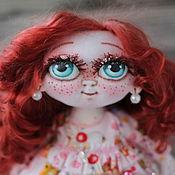 Куклы и игрушки ручной работы. Ярмарка Мастеров - ручная работа Игровая текстильная кукла Манюня.. Handmade.