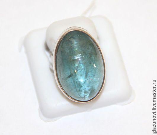 Кольца ручной работы. Ярмарка Мастеров - ручная работа. Купить Серебряное кольцо (925) с аквамарином. Handmade. Голубой, аквамарин