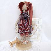 """Куклы и игрушки ручной работы. Ярмарка Мастеров - ручная работа Текстильная кукла """"Хлоя"""". Handmade."""