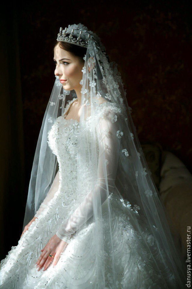диадема фото на свадьбу