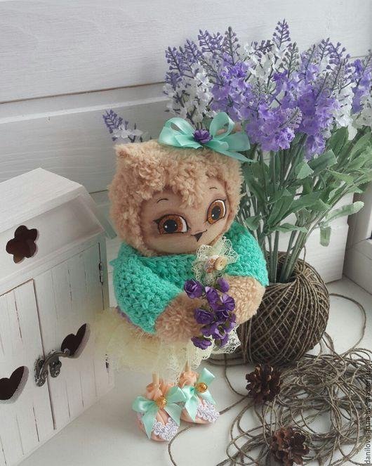 Куклы Тильды ручной работы. Ярмарка Мастеров - ручная работа. Купить Совушка. Handmade. Комбинированный, совушка, текстильная кукла