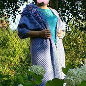 """Одежда ручной работы. Ярмарка Мастеров - ручная работа Кардиган """"Голубая гортензия"""". Handmade."""