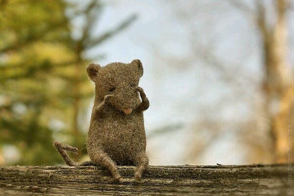 'Baby Boo', Felted Toy, Moscow,  Фото №1