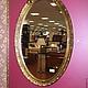 Зеркала ручной работы. Ярмарка Мастеров - ручная работа. Купить Зеркало в овальной раме (артикул RZ2d). Handmade. Рама, зеркала