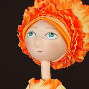 """Куклы и игрушки ручной работы. Ярмарка Мастеров - ручная работа Кукла из фоамирана """"Пио-Флора"""". Handmade."""