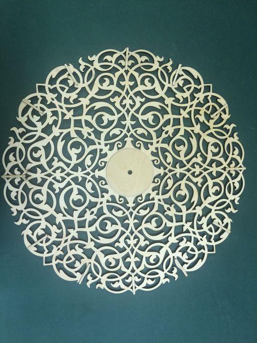 Часы для дома ручной работы. Ярмарка Мастеров - ручная работа. Купить Часы настенные. Handmade. Лазерная резка, резка фанеры