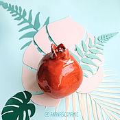 Для дома и интерьера ручной работы. Ярмарка Мастеров - ручная работа Влюбленный гранат. Handmade.