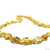 Украшения handmade. Livemaster - original item Beads from natural amber