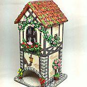 Для дома и интерьера handmade. Livemaster - original item Tea house in Provence with owl. Handmade.