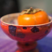 """Посуда ручной работы. Ярмарка Мастеров - ручная работа Креманка """"Карнавал"""". Handmade."""