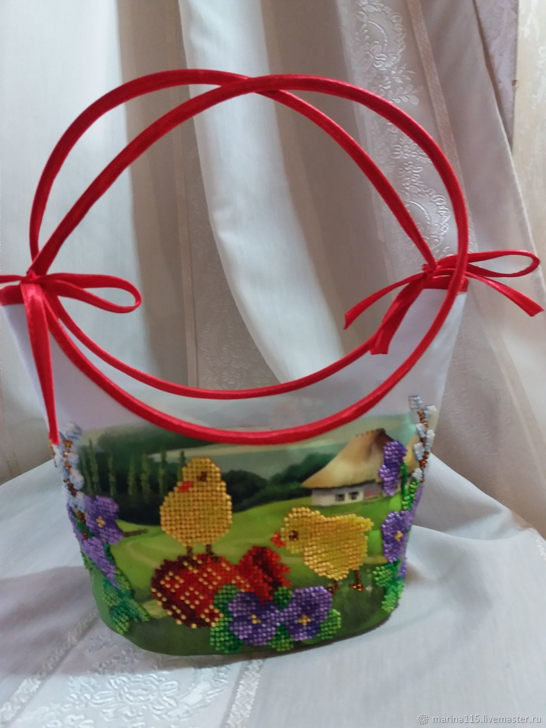 Easter Chicken Basket, Basket, Kiev,  Фото №1