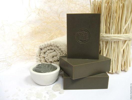 """Мыло ручной работы. Ярмарка Мастеров - ручная работа. Купить """"Мертвое море"""" натуральное грязевое мыло. Handmade. Натуральное мыло"""