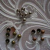 Материалы для творчества ручной работы. Ярмарка Мастеров - ручная работа металлические украшения на шипах. Handmade.