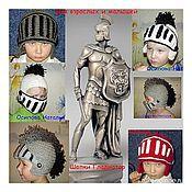 Работы для детей, ручной работы. Ярмарка Мастеров - ручная работа Зимняя шапка трансформер Гладиатор. Handmade.
