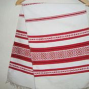 Русский стиль handmade. Livemaster - original item Woven ritual rushnyk handmade