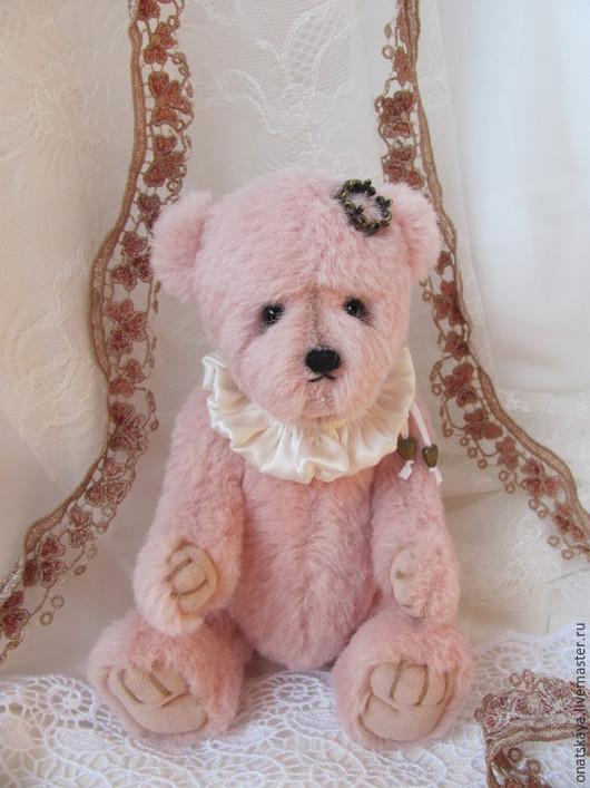 Мишки Тедди ручной работы. Ярмарка Мастеров - ручная работа. Купить Мишка Принцесса. Handmade. Бледно-розовый, альпака, миништоф