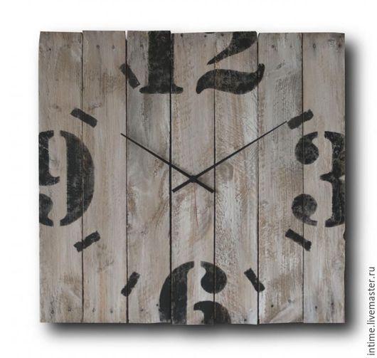 Часы для дома ручной работы. Ярмарка Мастеров - ручная работа. Купить 12.3.6.9. Handmade. Настенные часы