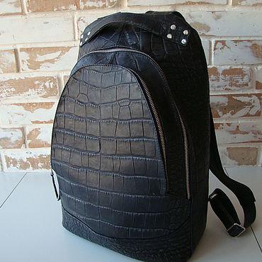 Сумки и аксессуары ручной работы. Ярмарка Мастеров - ручная работа Стильный и качественный кожаный рюкзак / выбор цветов. Handmade.