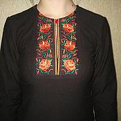 Одежда ручной работы. Ярмарка Мастеров - ручная работа Трикотажная блуза. Handmade.