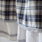 Одежда ручной работы. Ярмарка Мастеров - ручная работа Длинная юбка в клетку. Handmade.