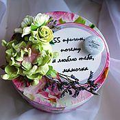 """Подарки к праздникам ручной работы. Ярмарка Мастеров - ручная работа Коробочка счастья """"55 причин, почему я люблю тебя, мамочка"""". Handmade."""