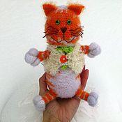 Куклы и игрушки ручной работы. Ярмарка Мастеров - ручная работа Василий Душегрейкин :) Рыжий кот! И помурлычет он, и спляшет, и споет!. Handmade.