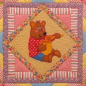 Для дома и интерьера ручной работы. Ярмарка Мастеров - ручная работа Детское лоскутное одеяло  СЛАСТЕНА 2 одеяло покрывало  лоскутное детск. Handmade.