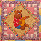 Для дома и интерьера handmade. Livemaster - original item Baby quilt sweet TOOTH 2 blanket bedspread patchwork detsk. Handmade.