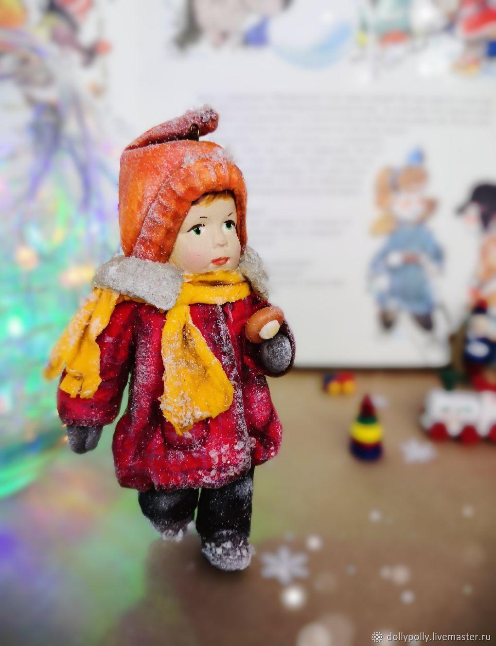 Девочка с ватрушкой, Елочные игрушки, Москва,  Фото №1