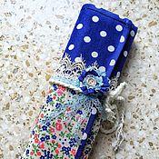 Материалы для творчества handmade. Livemaster - original item Organizer for knitting needles and hooks. Handmade.
