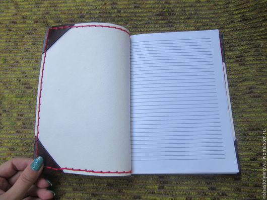 Записные книжки ручной работы. Ярмарка Мастеров - ручная работа. Купить записная книжка. Handmade. Разноцветный, записная книжка