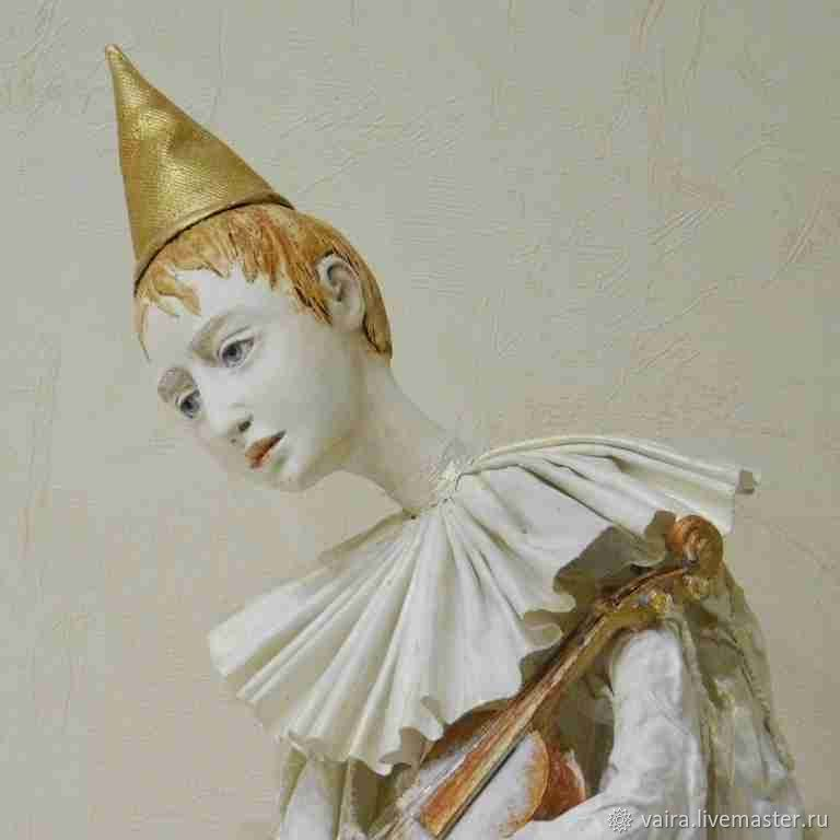 Белый Пьеро, Куклы, Москва, Фото №1