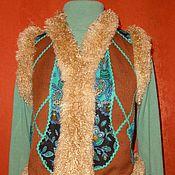 Одежда ручной работы. Ярмарка Мастеров - ручная работа жилет -я мозаику сложу из.... Handmade.