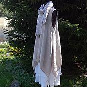 Одежда handmade. Livemaster - original item 204.1 Linen sundress-boho. Handmade.