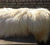 Для дома и интерьера ручной работы. Ярмарка Мастеров - ручная работа Продана!Шкурка козы для кукольных колос. Handmade.
