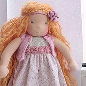 Вальдорфские куклы и звери ручной работы. Ярмарка Мастеров - ручная работа Вальдорфская кукла Принцесса Лиселотта 27 см. Handmade.