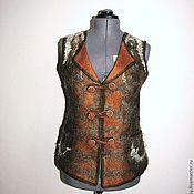 Одежда ручной работы. Ярмарка Мастеров - ручная работа Жилет-душегрейка. Handmade.