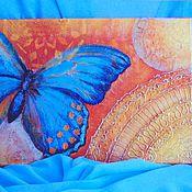 Картины и панно ручной работы. Ярмарка Мастеров - ручная работа Картина Бабочка. Handmade.