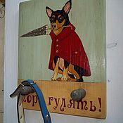 Для домашних животных, ручной работы. Ярмарка Мастеров - ручная работа Вешалка для поводков. Handmade.