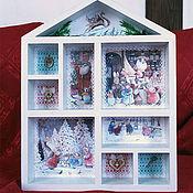 Для дома и интерьера handmade. Livemaster - original item Shelf, house collection, detail, shadowbox. Tales of the forest Fox. Handmade.