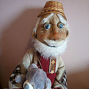 Куклы и пупсы ручной работы. Ярмарка Мастеров - ручная работа Старик. Handmade.