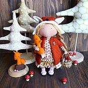 Куклы и игрушки ручной работы. Ярмарка Мастеров - ручная работа Текстильная кукла, Лиса Алиса. Handmade.