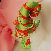Подарки к праздникам ручной работы. Ярмарка Мастеров - ручная работа Ёлка. Йолочка настольная. Handmade.