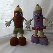 Куклы и игрушки ручной работы. Ярмарка Мастеров - ручная работа Карандашкины. Handmade.