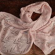 Одежда ручной работы. Ярмарка Мастеров - ручная работа Палантин вязаный.. Handmade.