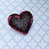 """Украшения ручной работы. Ярмарка Мастеров - ручная работа Брошь """"Сердце"""". Handmade."""