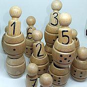 Куклы и игрушки ручной работы. Ярмарка Мастеров - ручная работа Монтессори Сортер Диогенчики Деревянная игрушка. Handmade.