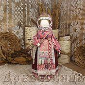 Народная кукла ручной работы. Ярмарка Мастеров - ручная работа Кукла-оберег Успешница. Handmade.