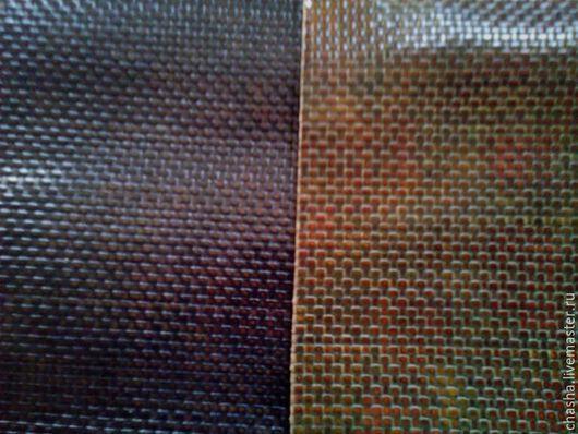 Шитье ручной работы. Ярмарка Мастеров - ручная работа. Купить Плетеная натуральная кожа. Handmade. Разноцветный, натуральная кожа