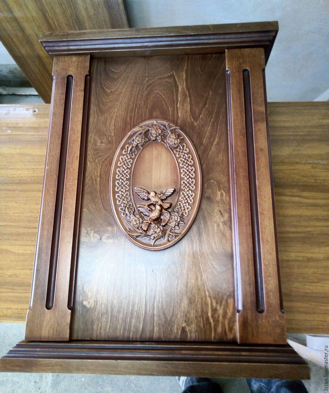 Ключница из дерева декор